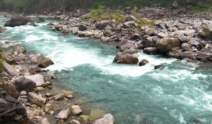 Kosi River at Khwarab