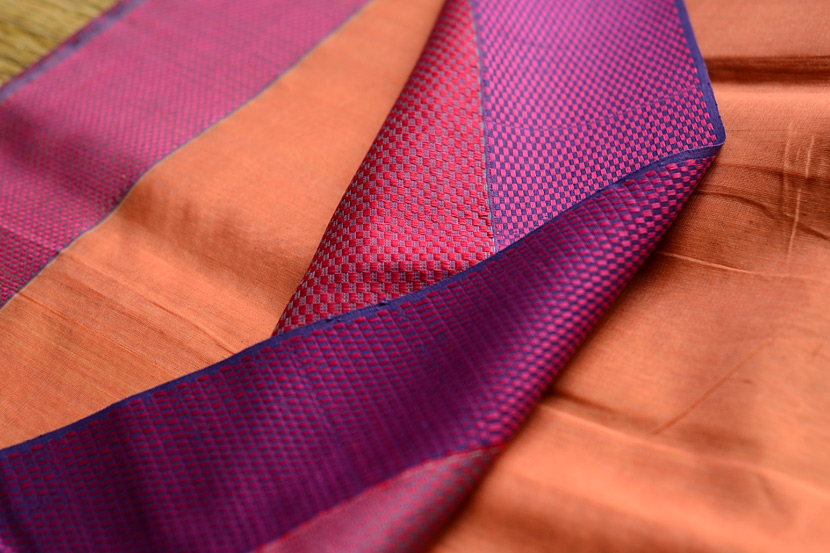 Maheshwari Saree made in Silk