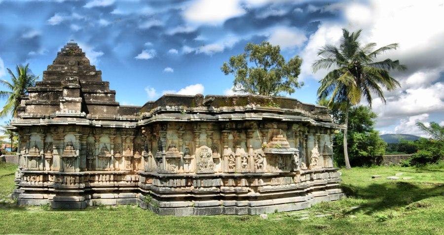 Chennakesava Temple at Marle, Chigmagalur
