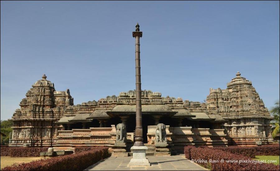 Veeranarayana Temple at Belavadi, Chikmagalur