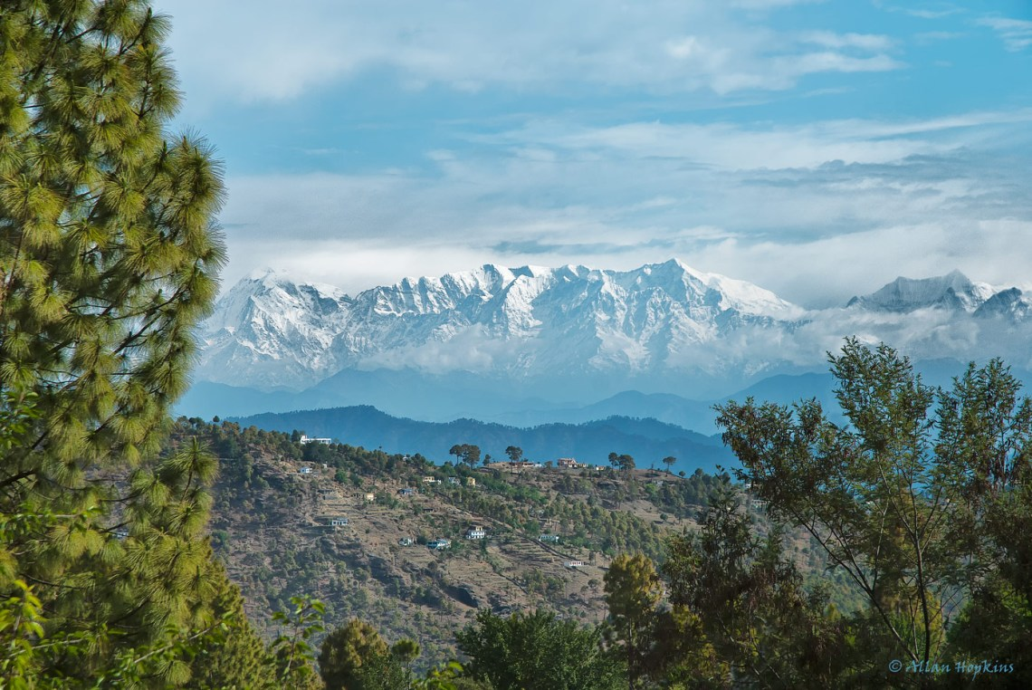Hill Views near Almora