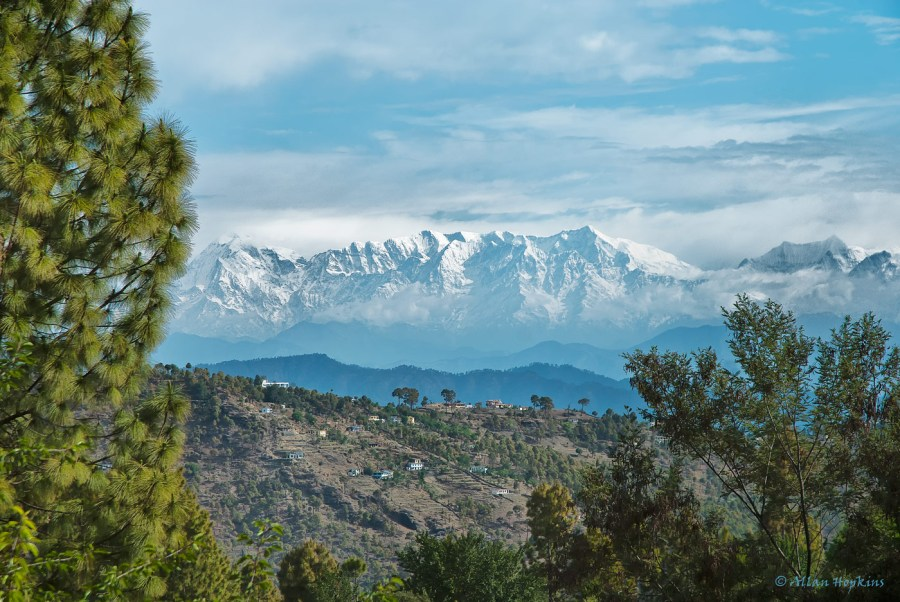 Hill Views near Almora