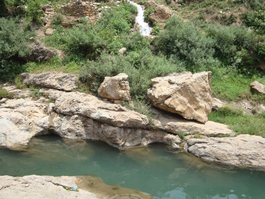 Mystical Doodh Ganga that originates near Shivkhori