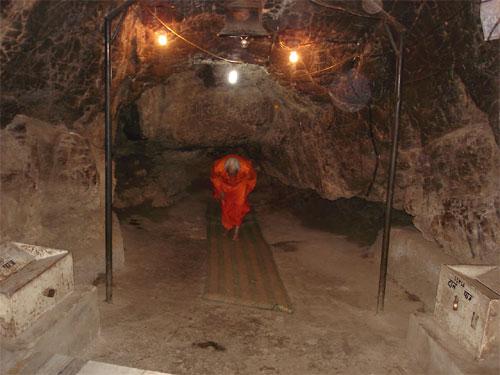 Entrance to the inner sanctum-Shivkhori
