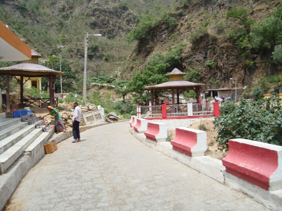 Pilgrim Path leading to the Caves-Shivkhori