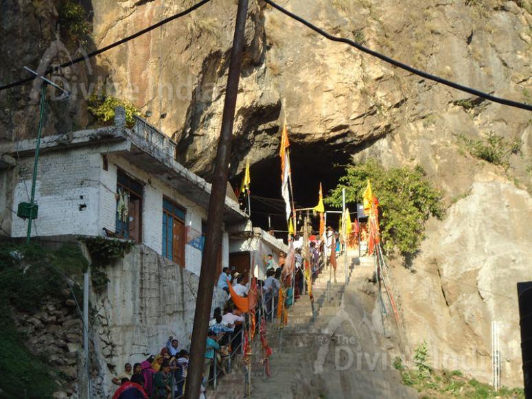 Entrance View of Shivkhori Caves, Reasi-Jammu