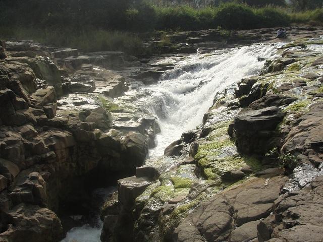 Baneshwar Waterfall during Monsoons