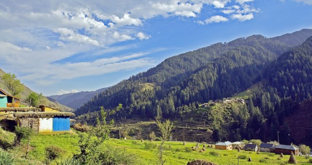 Beautiful Bhandal Valley