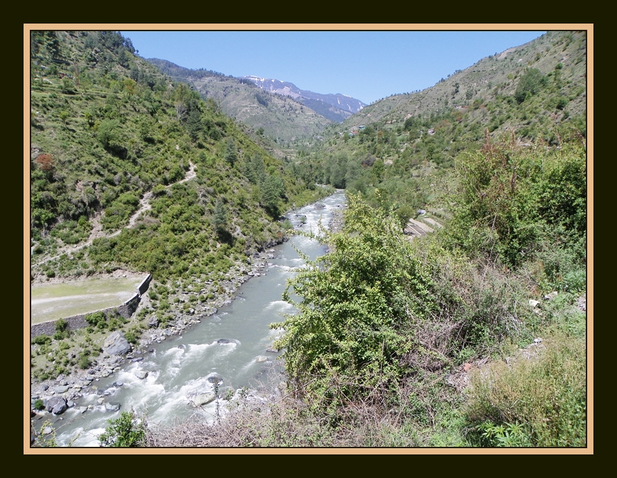 Siul River near Bhandel Valley