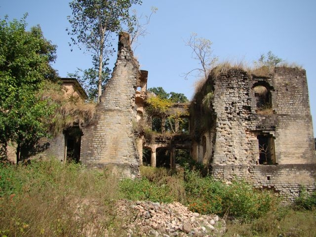Ruins of Nadaun Fort, Himachal Pradesh
