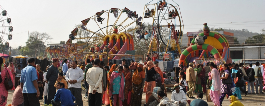 Holi Fair held at Sujanpur, Hamirpur