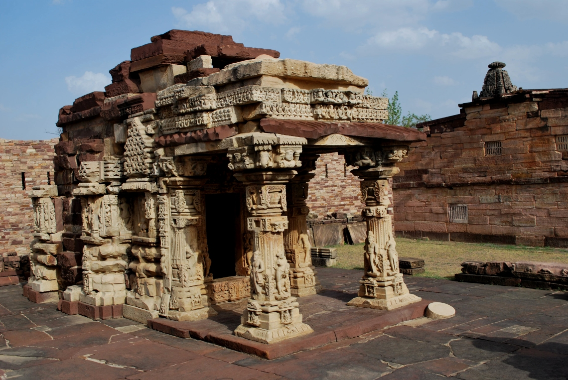 Temple Ruins at Surwaya Fort, Madhya Pradesh