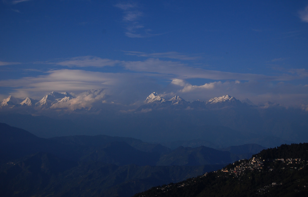 The Majestic Himalayas As Seen from Darjeeling