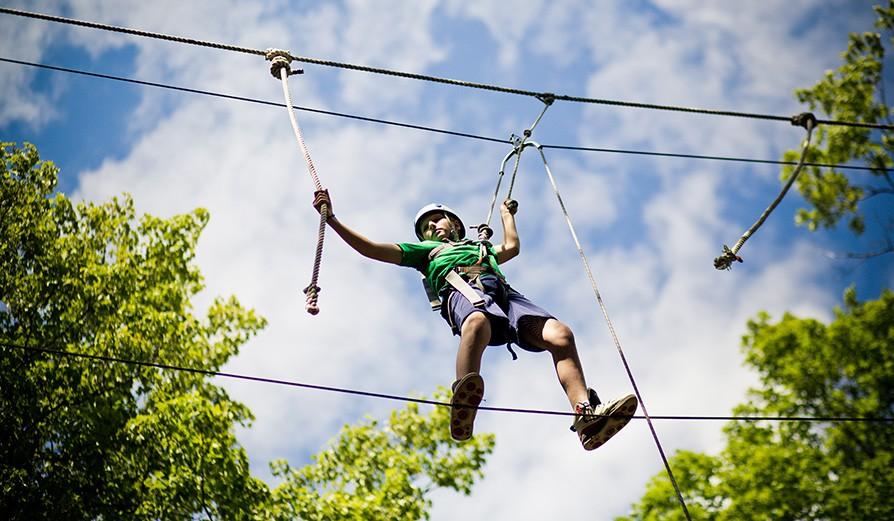 Adventure Activities at I-Camp, Wai