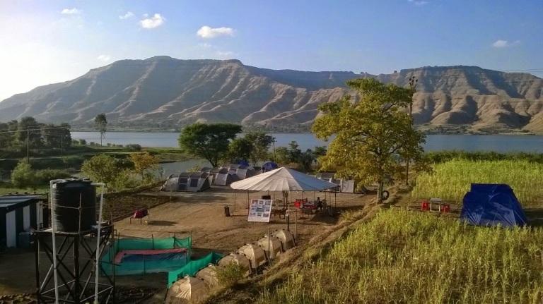 Krishna River Camp Located at Wai