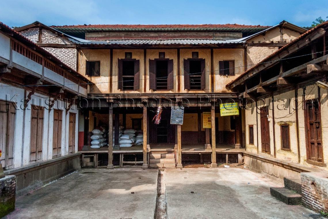 Courtyard at Nana Fadnavis Wada