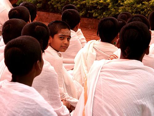 Young Disciples at a Vedic School, Mattur